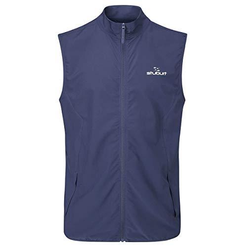 Stuburt Golf SSBTOP1137 Herren Evolve Lite Thermo & Atmungsaktiv Sport Golf Weste Weste Bodywarmer Jacke Top M midnight