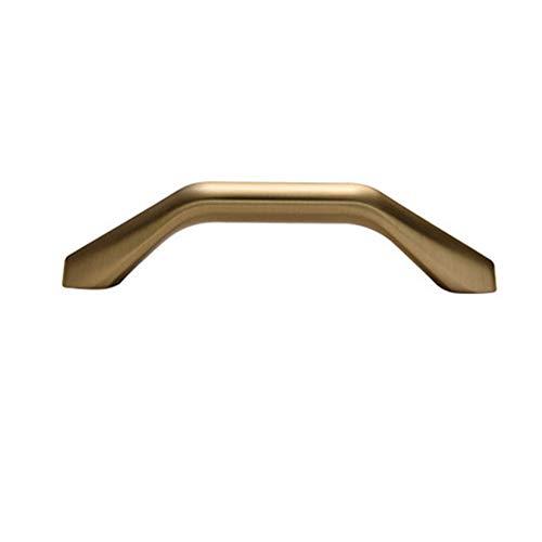 Modernos perillas de gabinete y manijas Muebles Cajas Tirantes de la aleación de Zinc Mangos de Cocina Tirones de Oro para Muebles,128mm