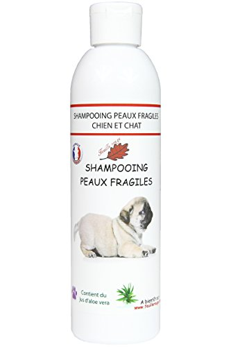 Feuille rouge Shampooing Chiens - Anti Demangeaisons - 250 ML