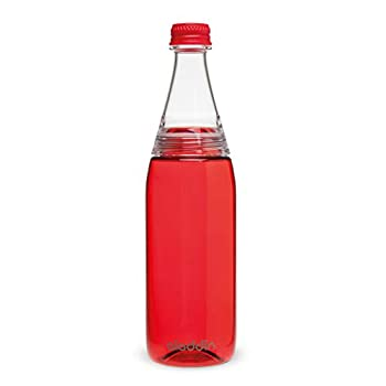 Aladdin Fresco Twist and Go Two Way Lid Water Bottle Red 0.7 Litre