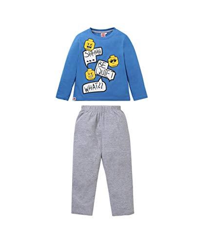 LEGO Jungen Pyjama Blau 128