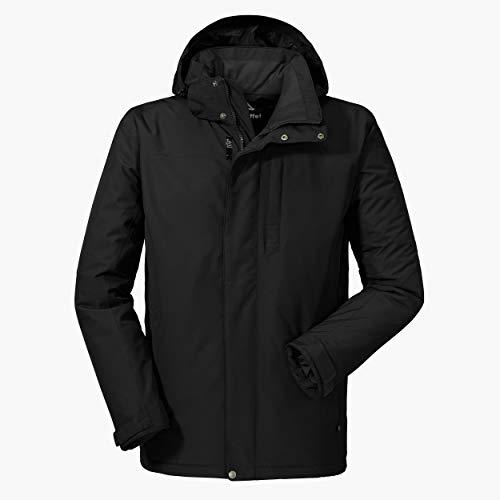 Schöffel Belfast2 Herenjack, wind- en waterdicht, warme en ademende outdoorjas met hoog draagcomfort