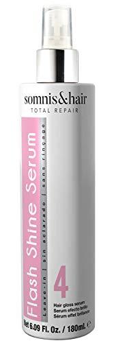 somnis&hair by abril et nature Flash Shine Serum 180ml. Brillo Intenso Cabellos Dañados. Producto Vegano