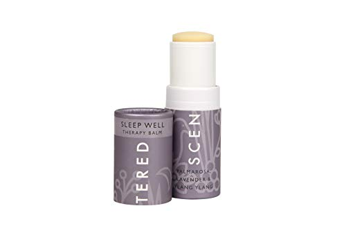 Scentered SLEEP WELL Aromatherapy Balm Stick - Sleep Aid for Restful Sleep & Bedtime Relaxation - Lavender, Chamomile & Ylang Ylang Blend