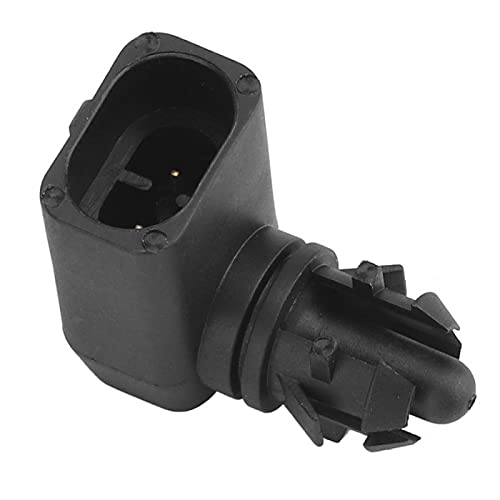 HKPKYK Sensor de Temperatura del Coche Sensor de Temperatura del Aire Exterior Exterior del Coche 10396844, para Buick, para Chevrolet, para GMC
