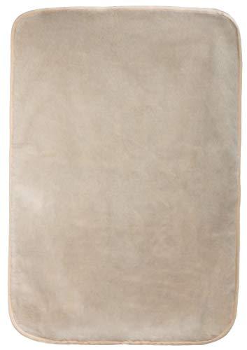 Brandseller huisdierdeken, hondendeken, kattendeken, diermat, zijdezacht, ca. 70 x 100 cm, ca. 70x100 cm, beige