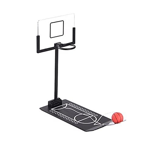 Baishi Mini juego de baloncesto creativos de escritorio plegable juego de baloncesto juguete para oficina hogar
