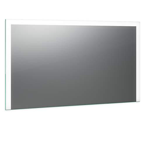 Spiegel ID Noemi Design: LED BADSPIEGEL mit Beleuchtung - nach Wunschmaß - Made in Germany - Auswahl: (Breite) 60 cm x (Höhe) 80 cm - Modell: 2202001
