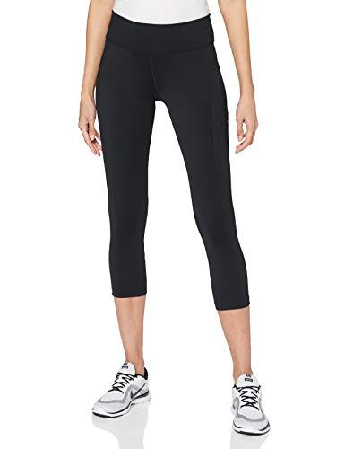 Nike Pantalon d'entraînement Power Hyper Femme Pantalon d'entraînement Femme Black/Clear FR: XS (Taille Fabricant: XS)