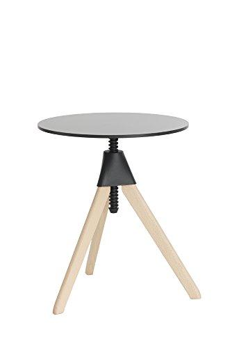 Magis Topsy Tisch, Holz, Buche Natur/schwarz