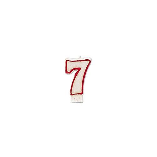 Kaars cijfer 7