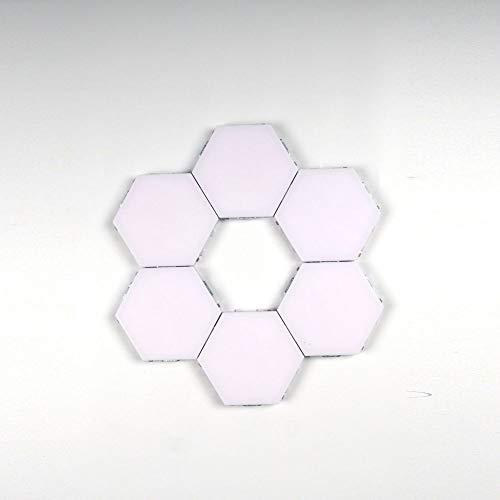 Nachtlicht Leben Smart Led Quantenlicht Smart Quantenlicht Hexagon Modularer Berührungssensor Magnetische Wabendekoration Led Wandleuchte Nachtlicht