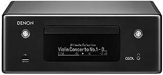 Denon RCD-N10 - Receptor de CD (Wi-Fi, Bluetooth, Airplay, Heos, Amazon Alexa) Receptor de CD de Red.