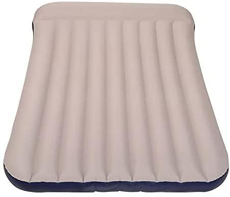 WSVULLD Cama Inflable de la colchón de Aire Inflable de Aire para Las Carpas, Las caravanas o para los huéspedes en casa, colchón de Camping cómodo y sin Fugas, 188 * 93 * 22 cm