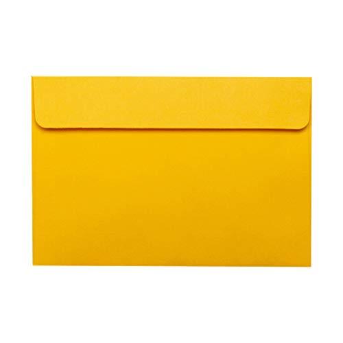 MISHITI 50 Uds Vintage Sobres Grandes Postal Carta papelería Tarjeta de felicitación sobre