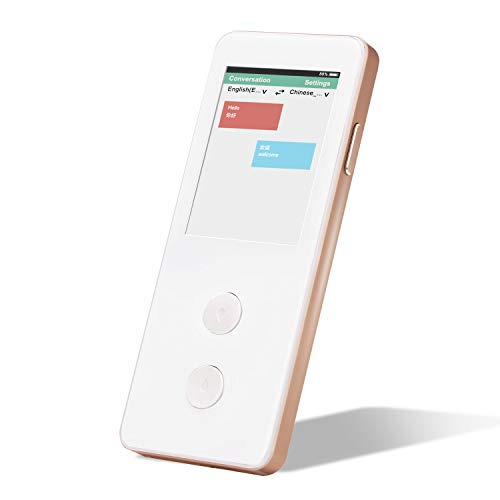ECVV Smart Real-time Translator Device, 2 Way Language...