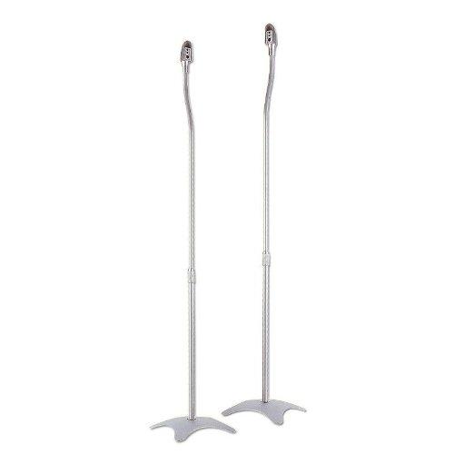 con piedistallo Minify colore: Argento 2 coppie di supporti per altoparlanti portata: 4,5 kg luno