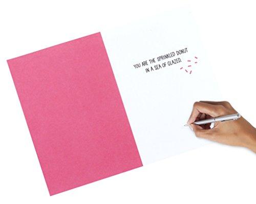 Hallmark Shoebox Funny Anniversary Card, Love Card (Donut Joke) Photo #2
