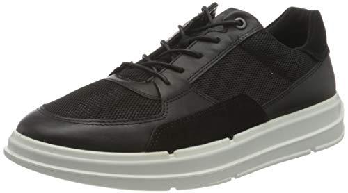 ECCO Herren Soft X Sneaker, Schwarz(Black/Black/Black), 40 EU
