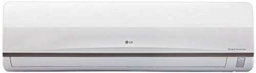LG 1.0 Ton 3 Star Inverter Split AC (Copper, JS-Q12CPXD1, White)