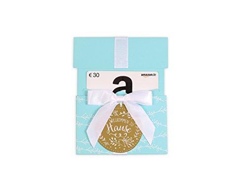 Amazon.de Geschenkkarte in Geschenkkuvert - 30 EUR (Willkommen zu Hause)