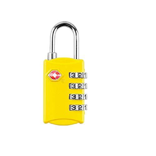 Gangkun Color digitale wachtwoord lock reizen benodigdheden reizen goederen tsa douaneslot hangslot tsa309 douane multifunctionele vier zwart, geel