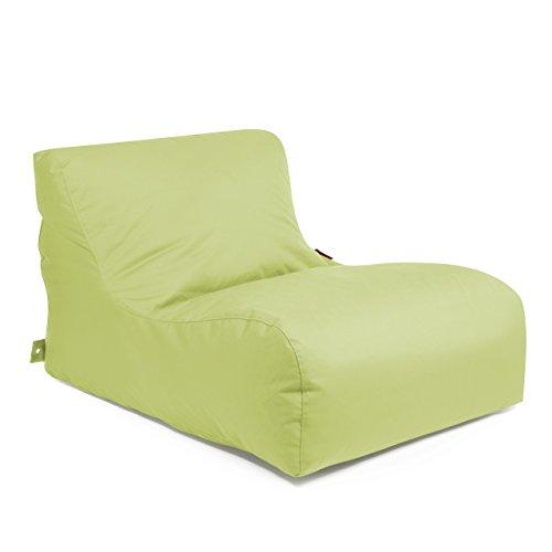 Outbag Outdoor Chaise longue de jardin Wave Couleur Citron 125 x 70 x 65 cm (L x l x h)
