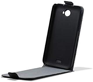 tonerahorro ® para su Uso en 3GO Droxio B51 Funda Flip Cover Vertical Piel Negra