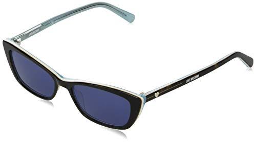 Occhiali da Sole Love Moschino MOL017/S BLACK/BLUE 52/15/140 donna