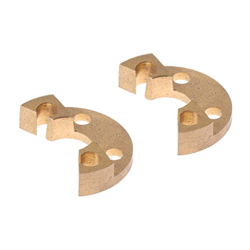 2 Stück Französisch Horn Rotor Stops Ersatzteile Blechblasinstrumente Teile