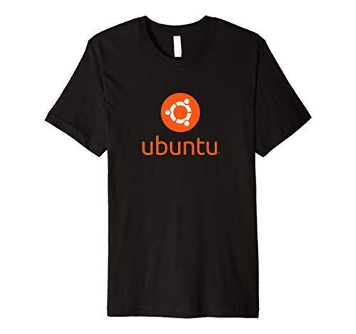 Offizielles T-Shirt–Ubuntu Logo Linux Betriebssystem