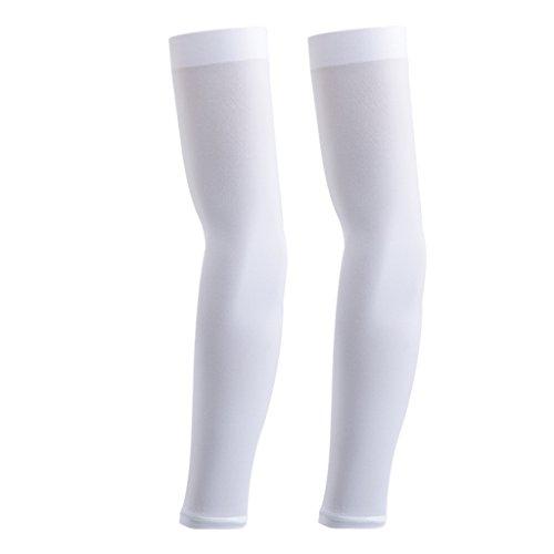 SunniMix - Running-Armlinge für Damen in Weiß