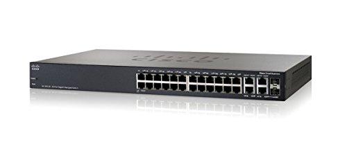 Cisco SRW2024 gemanaged L3 Gigabit Ethernet (10/100/1000) Grau