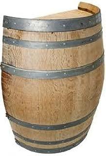 wine barrel bench plans