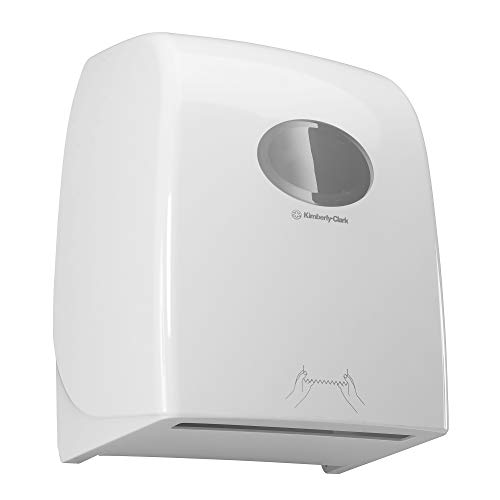 Aquarius Dispensador de toallas secamanos en rollo 6959, blanco