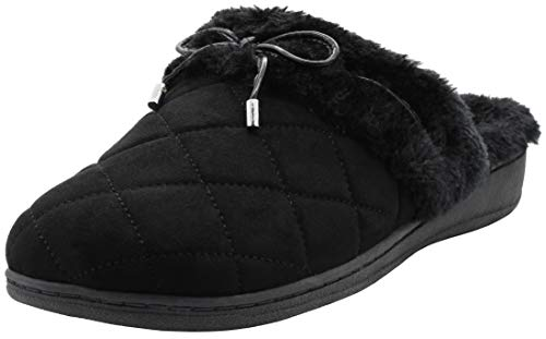 Vionic Women's Backless Indulge Pleasant Slipper - Ladies Slip-on Slippers with Concealed Orthotic...