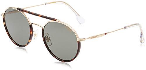 Carrera 208/S Gafas de Sol, Goldgreen, 54 Unisex Adulto