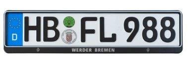 SV Werder Bremen Kennzeichenhalter / Nummernschildhalter