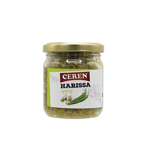 Salsa Harissa verde picante 190g