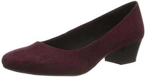 MARCO TOZZI Damen 2-2-22305-33 Pumps, Rot (Bordeaux 549), 38 EU