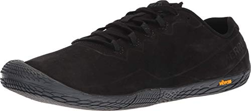 Merrell Men's Vapor Glove 3 Luna Leather Sneaker, black, 10 M US