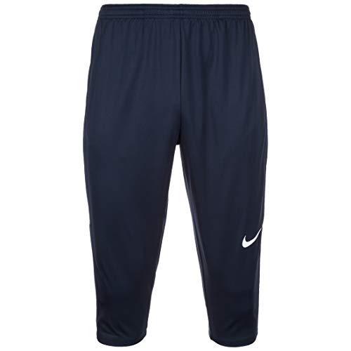 Nike Academy18 3/4 Tech Pant Pantalon Homme, Bleu (Obsidien/Blanc), M