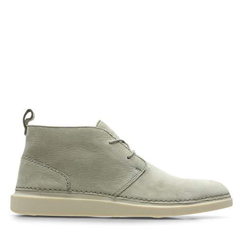 Clarks Herren Hale Lo Chukka Boots, Beige (Desert Nubuck), 44.5 EU