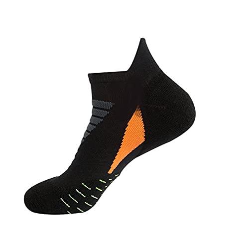 Shawari Calcetines Deportivos Profesionales de Baloncesto, amortiguación Transpirable, Calcetines de algodón para Hombres para Montar al Aire Libre