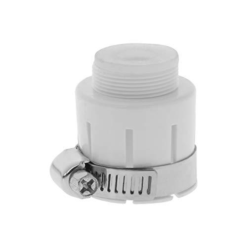 Folewr Conector de adaptador de grifo multifunción sin pezón para jardín y cocina