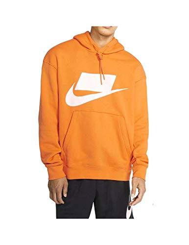 Nike Sudadera Sportswear NSW Kumquat/Sail Hombre