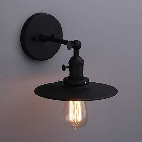 Mkj wandlampen hallampen spiegel lampen vooraan ganglampen industriële binnenverlichting met schakelaar Moderne wandlampen E27 fitting Blanco Y Gris