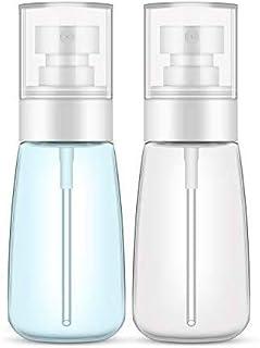 Uervoton スプレーボトル 霧吹き 極細ミスト 軽量 携帯便利 旅行 化粧品 植物用 小分けボトル 2個セット 60ml