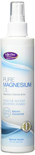 Life-Flo Pure Magnesium Oil | 100% Pure Magnesium Chloride Spray from Ancient Zechstein Seabed | For Relaxing & Rejuvenating Muscles & Joints | 8 oz