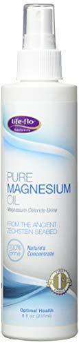 life-flo puro aceite de magnesio,...